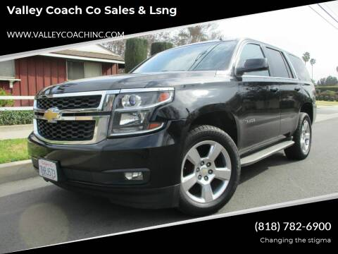 2015 Chevrolet Tahoe for sale at Valley Coach Co Sales & Lsng in Van Nuys CA