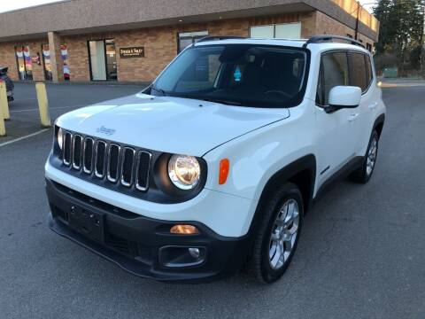2016 Jeep Renegade for sale at KARMA AUTO SALES in Federal Way WA