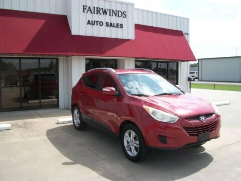 2012 Hyundai Tucson for sale at Fairwinds Auto Sales in Dewitt AR