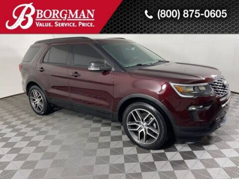 2019 Ford Explorer for sale at BORGMAN OF HOLLAND LLC in Holland MI