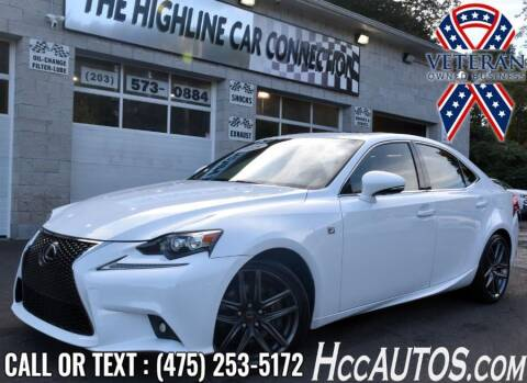 2015 Lexus IS 350 for sale at The Highline Car Connection in Waterbury CT