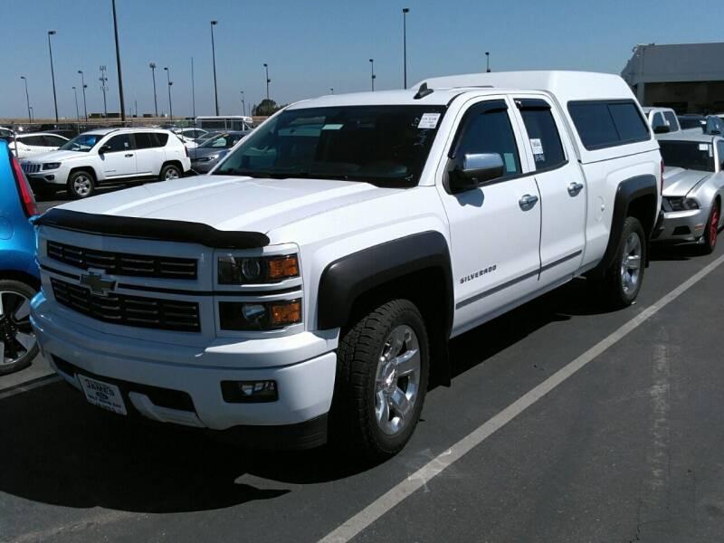 2015 Chevrolet Silverado 1500 for sale at Shamrock Group LLC #1 in Pleasant Grove UT