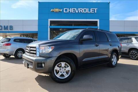 2017 Toyota Sequoia for sale at Lipscomb Auto Center in Bowie TX