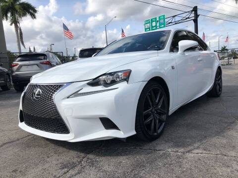 2015 Lexus IS 250 for sale at Gtr Motors in Fort Lauderdale FL