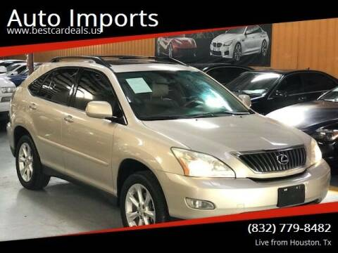 2008 Lexus RX 350 for sale at Auto Imports in Houston TX