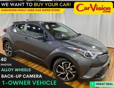 2018 Toyota C-HR for sale at Car Vision Mitsubishi Norristown - Car Vision Philly Used Car SuperStore in Philadelphia PA