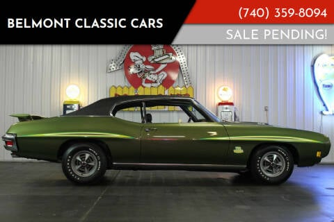 1970 Pontiac GTO for sale at Belmont Classic Cars in Belmont OH