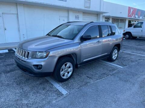 2014 Jeep Compass for sale at Hard Rock Motors in Hollywood FL