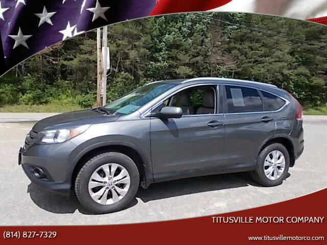 2014 Honda CR-V for sale at Titusville Motor Company in Titusville PA