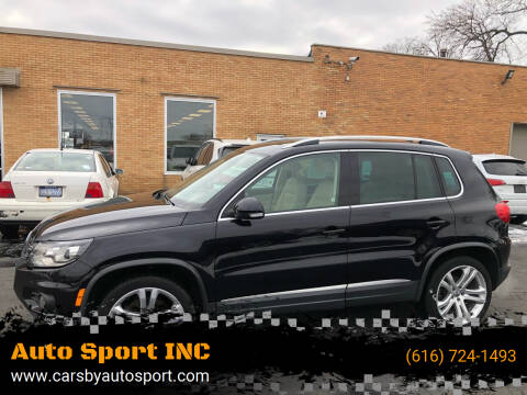 2012 Volkswagen Tiguan for sale at Auto Sport INC in Grand Rapids MI
