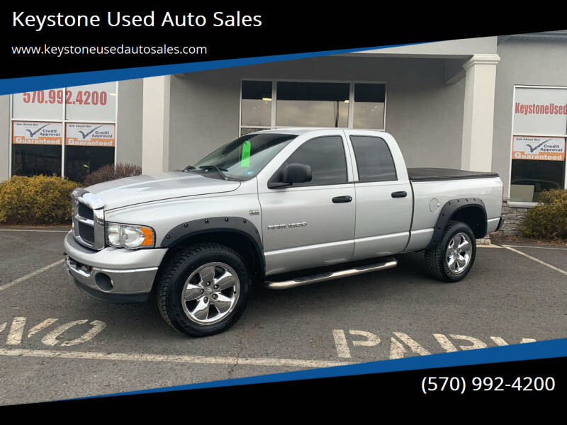 2004 Dodge Ram Pickup 1500 for sale at Keystone Used Auto Sales in Brodheadsville PA