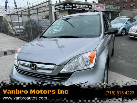 2008 Honda CR-V for sale at Vanbro Motors Inc in Staten Island NY