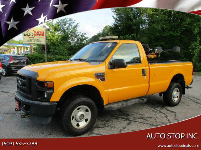 2008 Ford F-350 Super Duty for sale at AUTO STOP INC. in Pelham NH