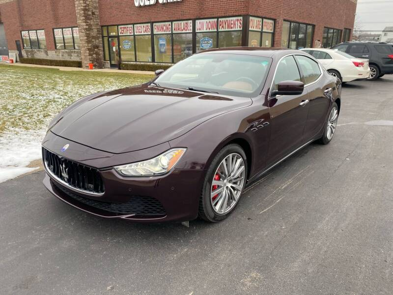 2016 Maserati Ghibli for sale at My Town Auto Sales in Madison Heights MI