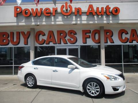 2014 Nissan Altima for sale at Power On Auto LLC in Monroe NC