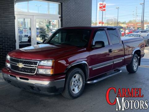 2007 Chevrolet Silverado 1500 Classic for sale at Carmel Motors in Indianapolis IN