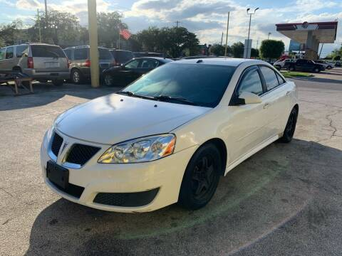 2010 Pontiac G6 for sale at Friendly Auto Sales in Pasadena TX