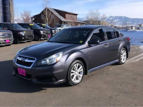 2013 Subaru Legacy for sale at Snyder Motors Inc in Bozeman MT