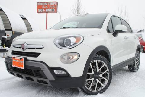 2016 FIAT 500X for sale at Frontier Auto & RV Sales in Anchorage AK