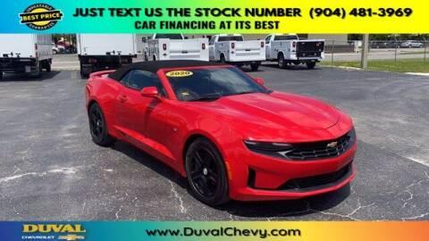 2020 Chevrolet Camaro for sale at Duval Chevrolet in Starke FL