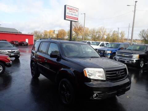 2015 Honda Pilot for sale at Marty's Auto Sales in Savage MN