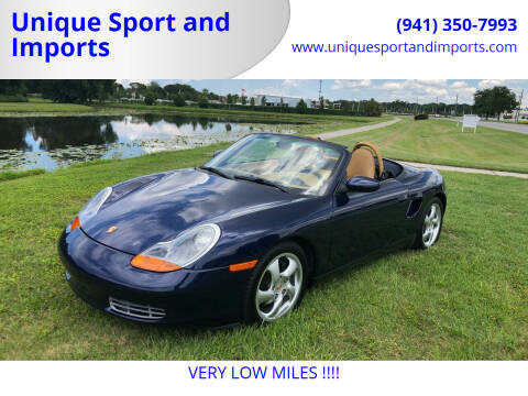 2001 Porsche Boxster for sale at Unique Sport and Imports in Sarasota FL