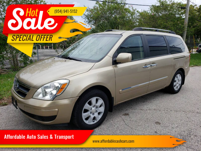 2007 Hyundai Entourage for sale at Affordable Auto Sales & Transport in Pompano Beach FL