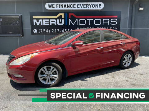 2011 Hyundai Sonata for sale at Meru Motors in Hollywood FL