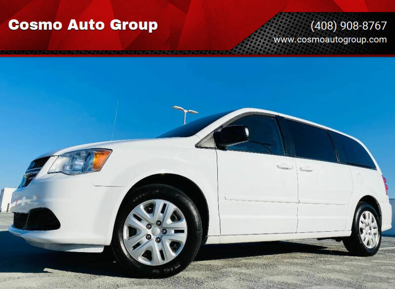 2017 Dodge Grand Caravan for sale at Cosmo Auto Group in San Jose CA