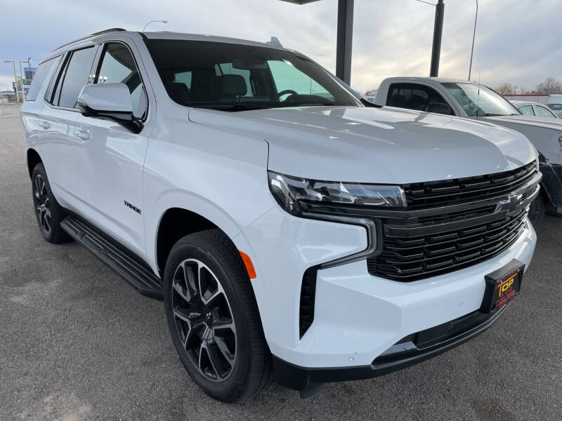 2021 Chevrolet Tahoe for sale at Top Line Auto Sales in Idaho Falls ID
