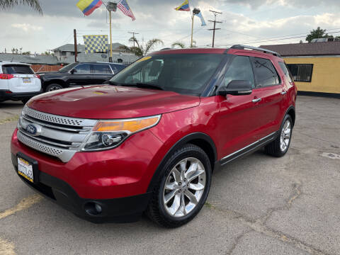 2012 Ford Explorer for sale at JR'S AUTO SALES in Pacoima CA