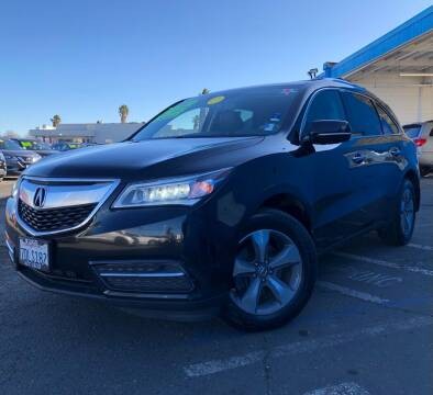 2014 Acura MDX for sale at LUGO AUTO GROUP in Sacramento CA