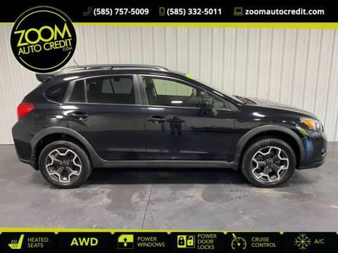 2015 Subaru XV Crosstrek for sale at ZoomAutoCredit.com in Elba NY