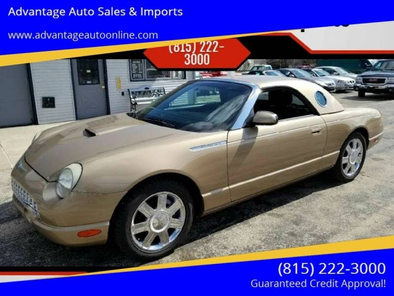 2005 Ford Thunderbird for sale at Advantage Auto Sales & Imports Inc in Loves Park IL