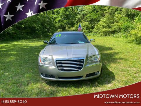 2013 Chrysler 300 for sale at Midtown Motors in Greenbrier TN