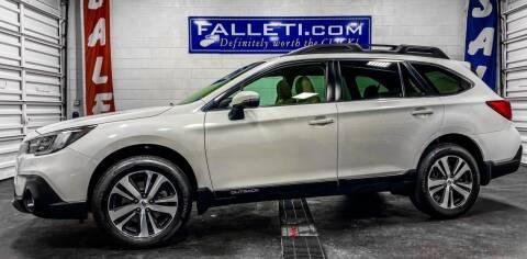2018 Subaru Outback for sale at Falleti Motors, Inc.  est. 1976 in Batavia NY