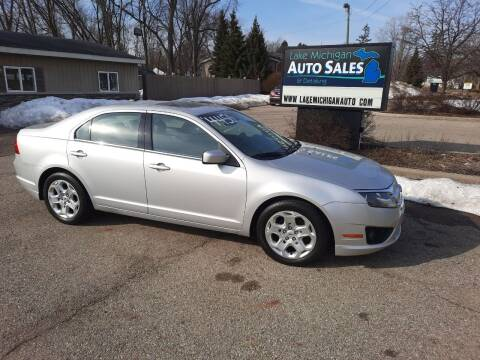 2010 Ford Fusion for sale at Lake Michigan Auto Sales & Detailing in Allendale MI