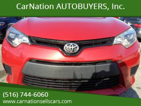 2014 Toyota Corolla for sale at CarNation AUTOBUYERS, Inc. in Rockville Centre NY