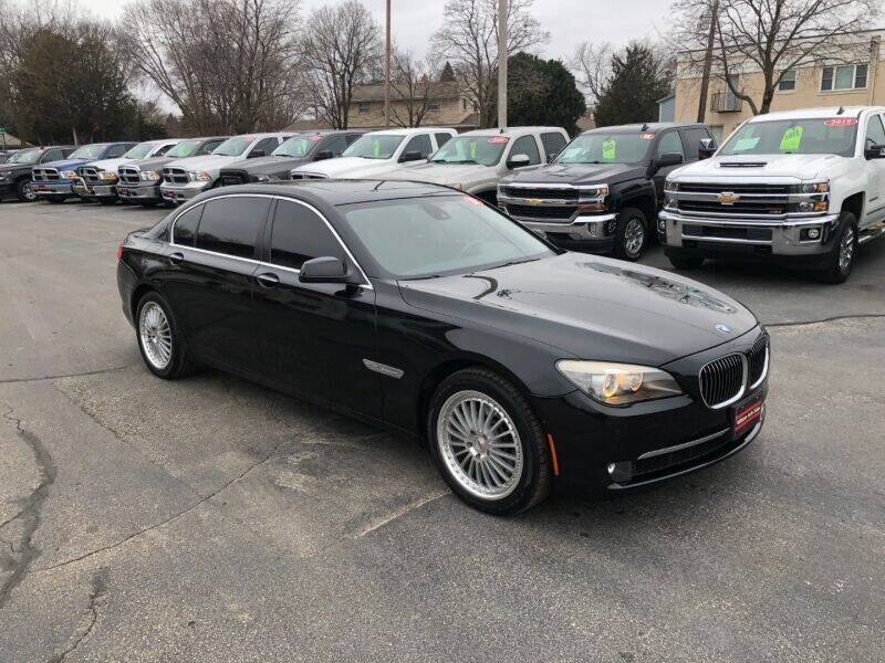 2012 BMW 7 Series for sale at WILLIAMS AUTO SALES in Green Bay WI