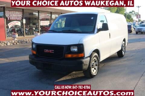 2011 GMC Savana Cargo for sale at Your Choice Autos - Waukegan in Waukegan IL