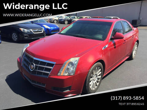 2011 Cadillac CTS for sale at Widerange LLC in Greenwood IN