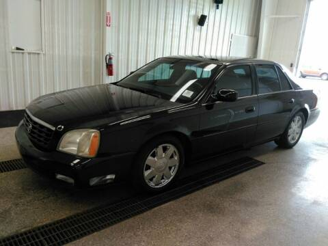 2003 Cadillac DeVille for sale at L&T Auto Sales in Three Rivers MI