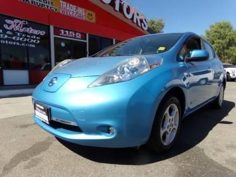 2011 Nissan LEAF for sale at Phantom Motors in Livermore CA