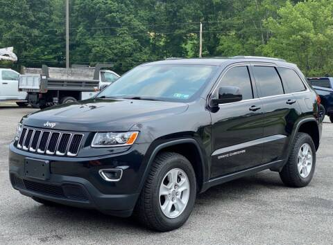 2015 Jeep Grand Cherokee for sale at Griffith Auto Sales in Home PA