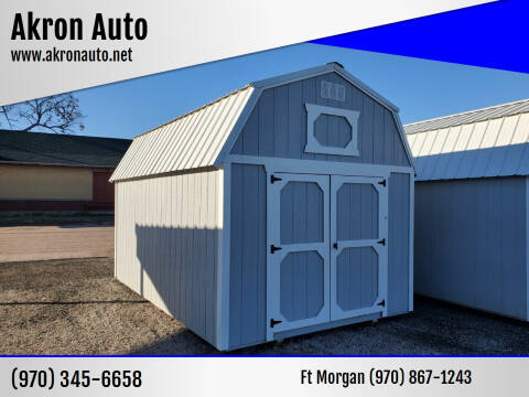 2020 Cumberland Lofted Barn for sale at Akron Auto in Akron CO