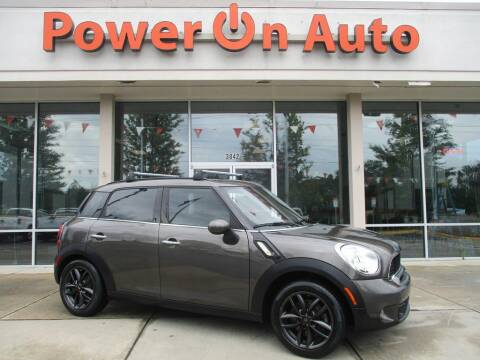 2011 MINI Cooper Countryman for sale at Power On Auto LLC in Monroe NC