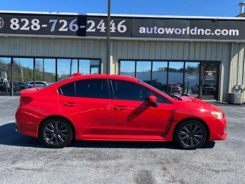 2016 Subaru WRX for sale at AutoWorld of Lenoir in Lenoir NC