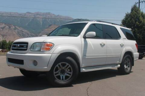 2003 Toyota Sequoia for sale at REVOLUTIONARY AUTO in Lindon UT
