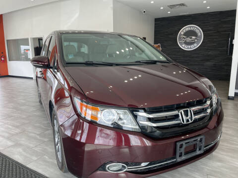 2014 Honda Odyssey for sale at Evolution Autos in Whiteland IN