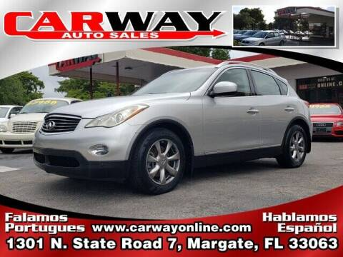 2008 Infiniti EX35 for sale at CARWAY Auto Sales in Margate FL